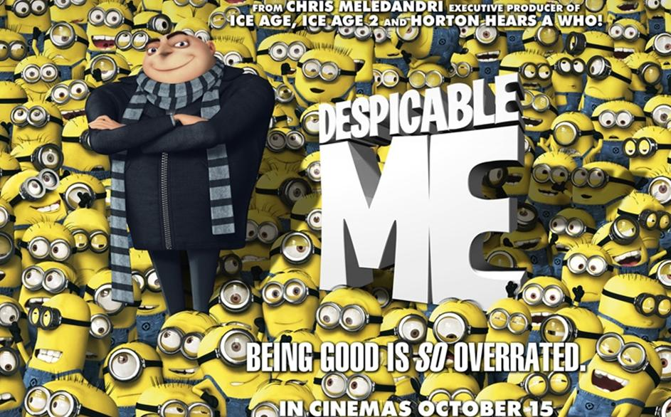 """Despicable Me"" de Pierre Coffin, Chris Renaud e Sergio Pablos"