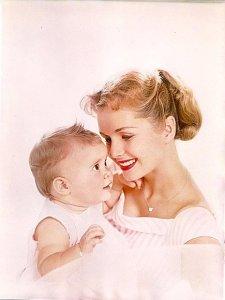 Debbie Reynolds e sua filha, Carrie Fisher